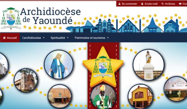 Site internet de l'archidiocèse de Yaoundé