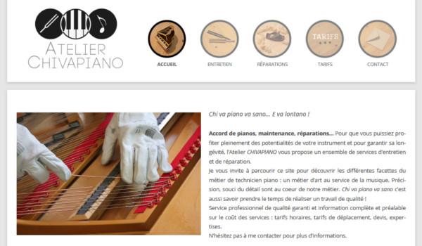 Site internet de Chivapiano