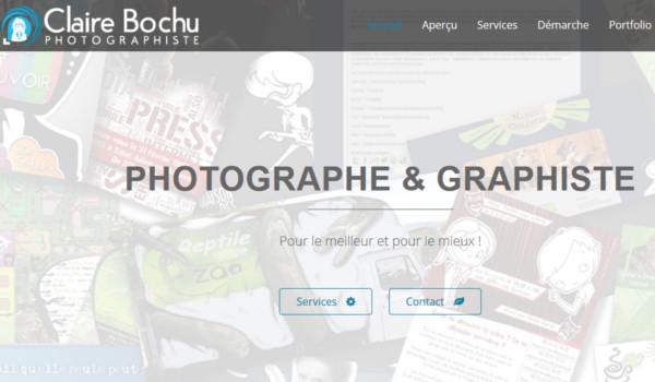 Site internet de Claire Bochu