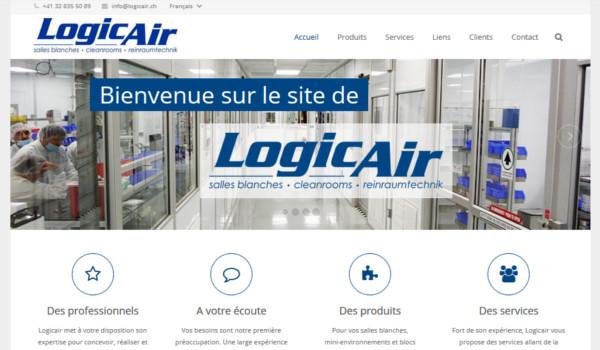 Site internet de Logicair