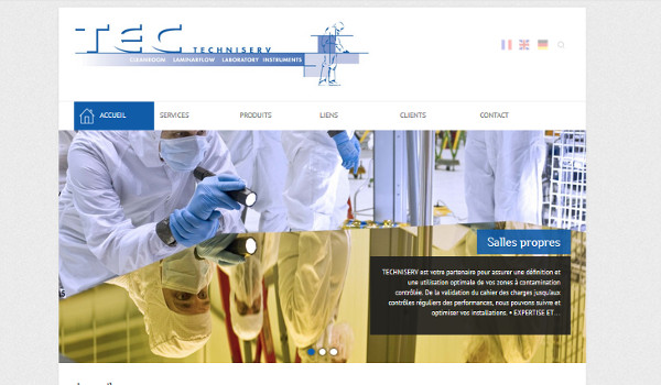 Site internet de Techniserv